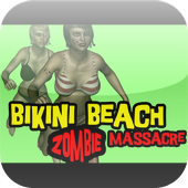 Bikini Beach Zombie Massacre Game Icon